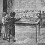 Caja alfabética española.