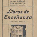 Librería de la Tip. Cat. Casals.