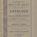 Librería Matías Real 1907.