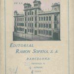 Ramón Sopena 1933.