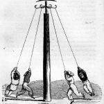 Columpio giratorio (rotatory swing) de las Infant School (Wilderspin).