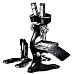 Microscopio binocular estereoscópico.