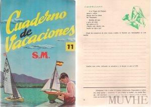 Figuras 1.4a y 1.4b. Editorial S.M. (sin año), Cuaderno de Vacaciones. Madrid: SM. Fondo CEME.