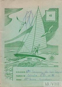 Figura 1.9b. Cuaderno de Cálculo 6º curso. Colegio Nuestra Señora de las Lágrimas (Murcia). Editorial Edelvives. Fondo CEME.