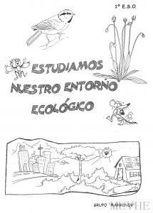 Figura 11.3. Grupo Marmenor (1997) Estudiamos Nuestro Entorno Ecológico. 1º ESO. San Javier: Novocopy, portada.