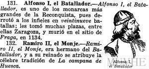 Figura 13.3. Lección de Historia. Dalmau, J. (1936). Enciclopedia cíclico-pedagógica. Grado Medio. Gerona: Salvat, p. 355.