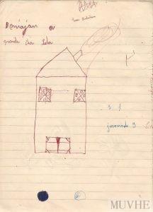 Figura 3.2. Cuaderno Escolar de los hermanos Montoya (Beniaján, Murcia 1954/55). Fondo CEME.