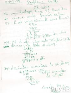 Figura 5.6. Cálculo vivo: El vino.