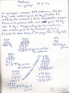 Figura 5.7. Cálculo vivo: La granja.