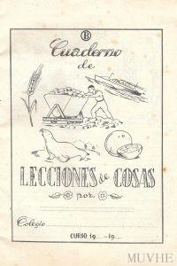 Figura 6.3. Mallafré, Luis (sin año), Escribo y dibujo mi cuaderno de lecciones de cosas. Cuaderno B. Barcelona: Editorial Roma, contraportada.