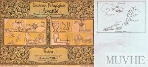 Figura 9.1a y 9.1b. Villar, Aniceto (sin año), Lecciones Pedagógicas Avante. Nuevo Método de Enseñanza. Física. Barcelona: Salvatella, portada y página interior.