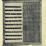Tablero contador de quebrados (Antonio Pérez, 1911 y 1930)