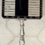Tablero contador doble (Bastinos, 1881)