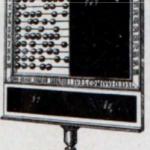 Tablero contador para enteros y quebrados. (Perelló y Vergés, 1915)