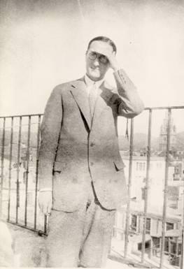 Jorge Guillén, poeta y catedrático de la Universidad de Murcia