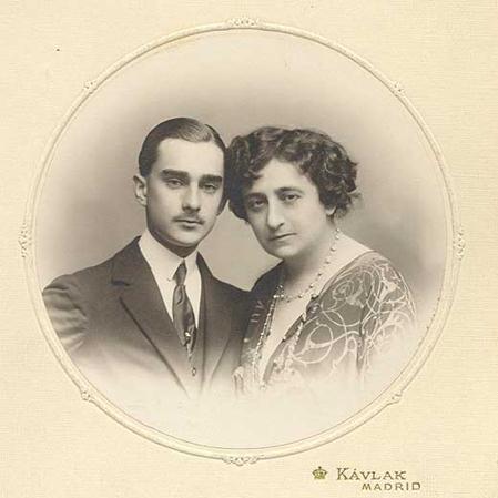 Fernando Díaz de Mendoza y María Guerrero